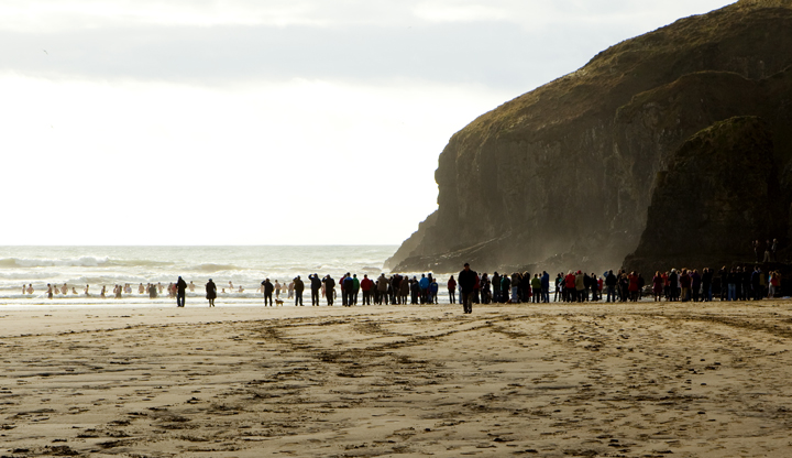 christmas swim 2011 stradbally county waterford