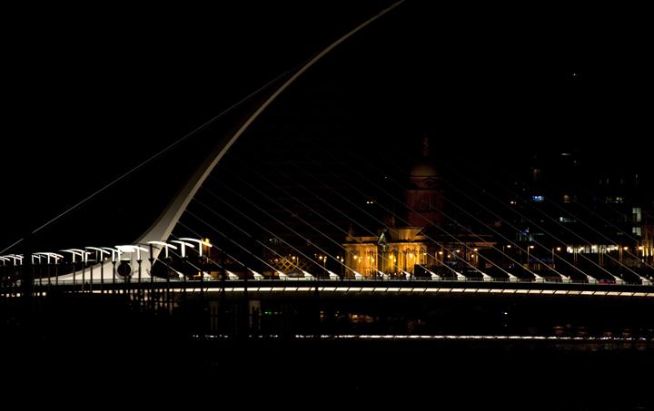 samuel beckett bridge dublin city